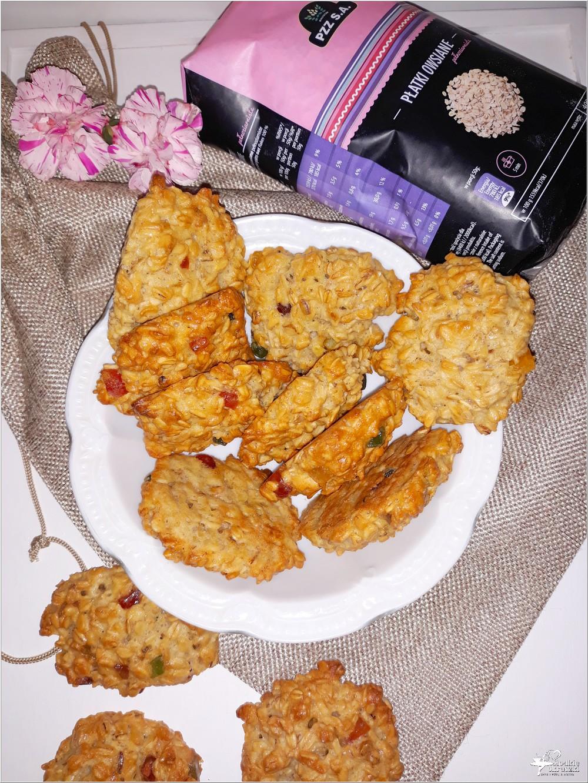 Owsiane ciasteczka z kandyzowaną skórką (3)