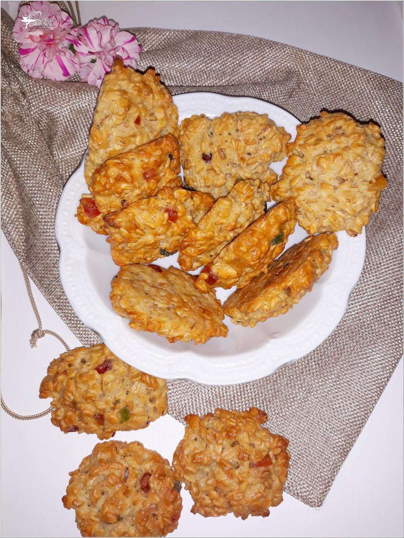 Owsiane ciasteczka z kandyzowaną skórką (5)