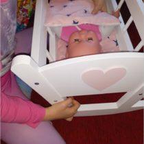 Słów kilka o łóżeczku dla lalek + wyniki konkursu z Montownia Zabawek (1)
