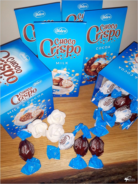 Słodki świat Vobro. Czekoladowe praliny Choco Crispo (1)