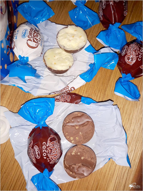 Słodki świat Vobro. Czekoladowe praliny Choco Crispo (8)