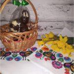 Wiosenne serwetki z ręcznym nadrukiem w stylu folk i kilka słów o wyrobach TEHORE