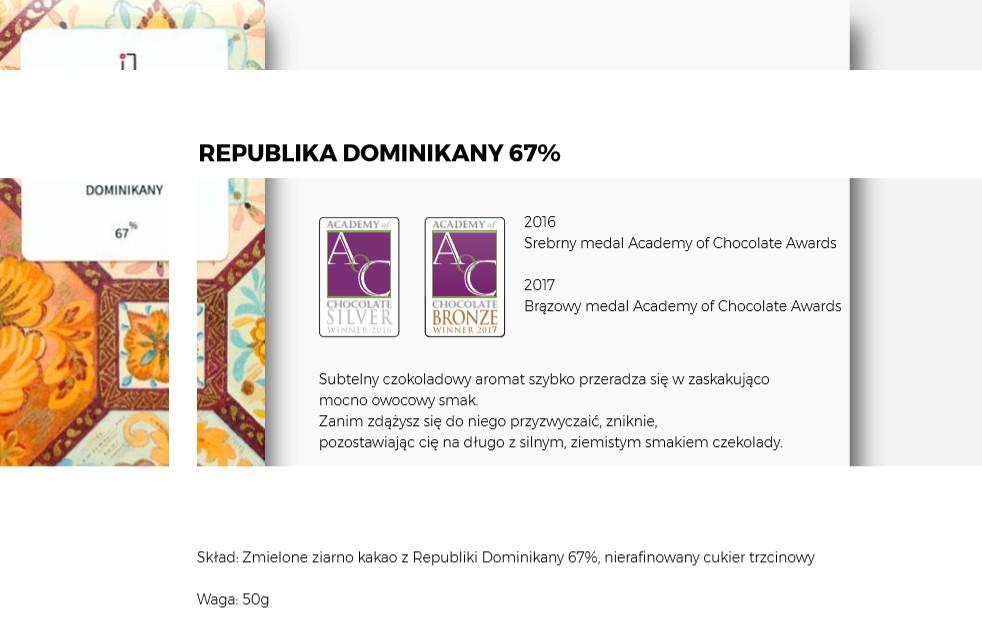 czekolada Republika Dominikany