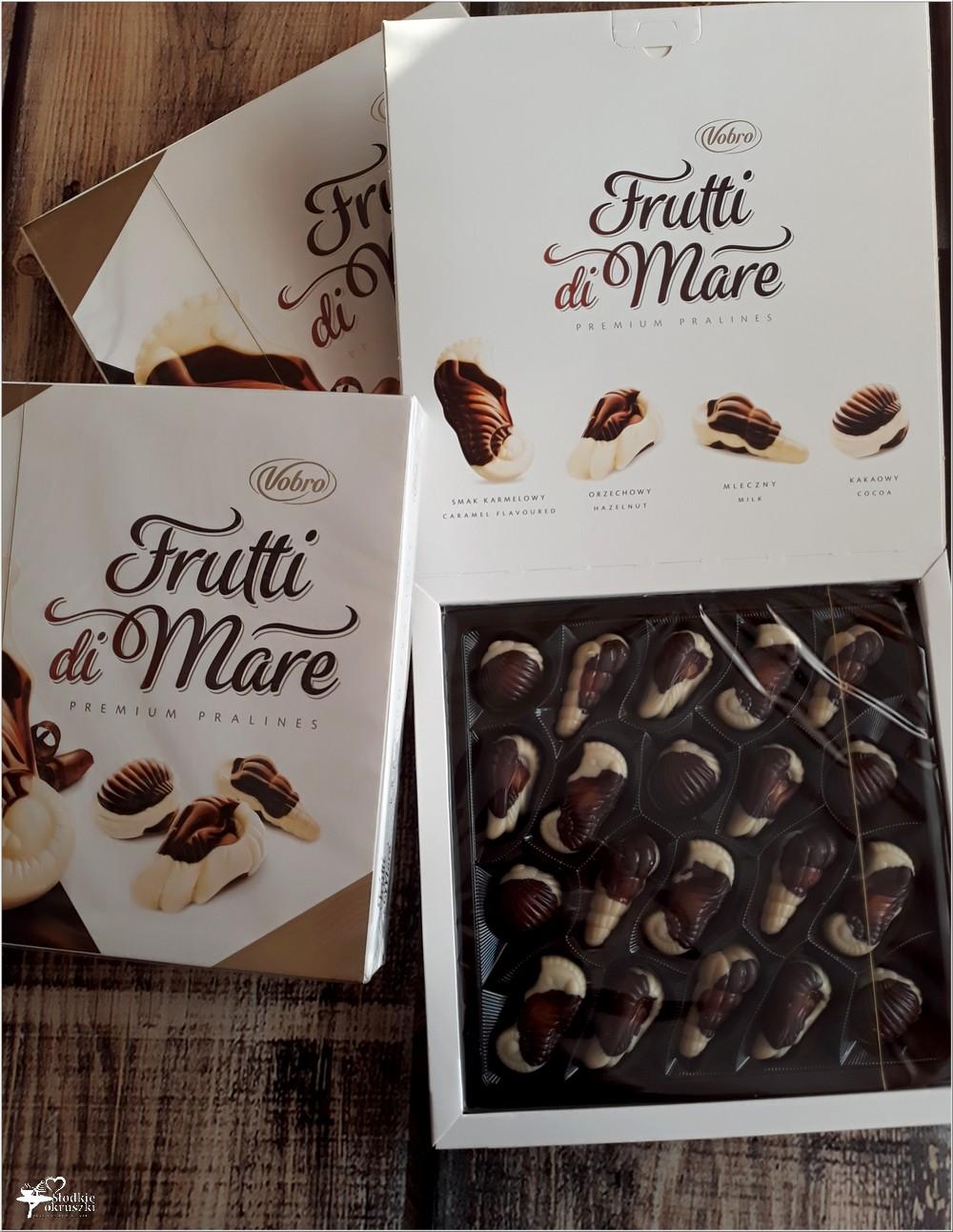 Bombonierki Frutti di Mare Vobro. Wyjątkowy smak i kształt