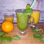 Złote i zielone smoothie oraz woda fiji, czyli zdrowie co dnia