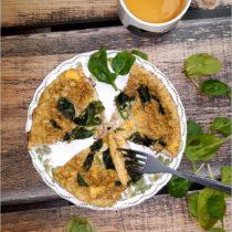 Prosty omlet ze szpinakiem (1)