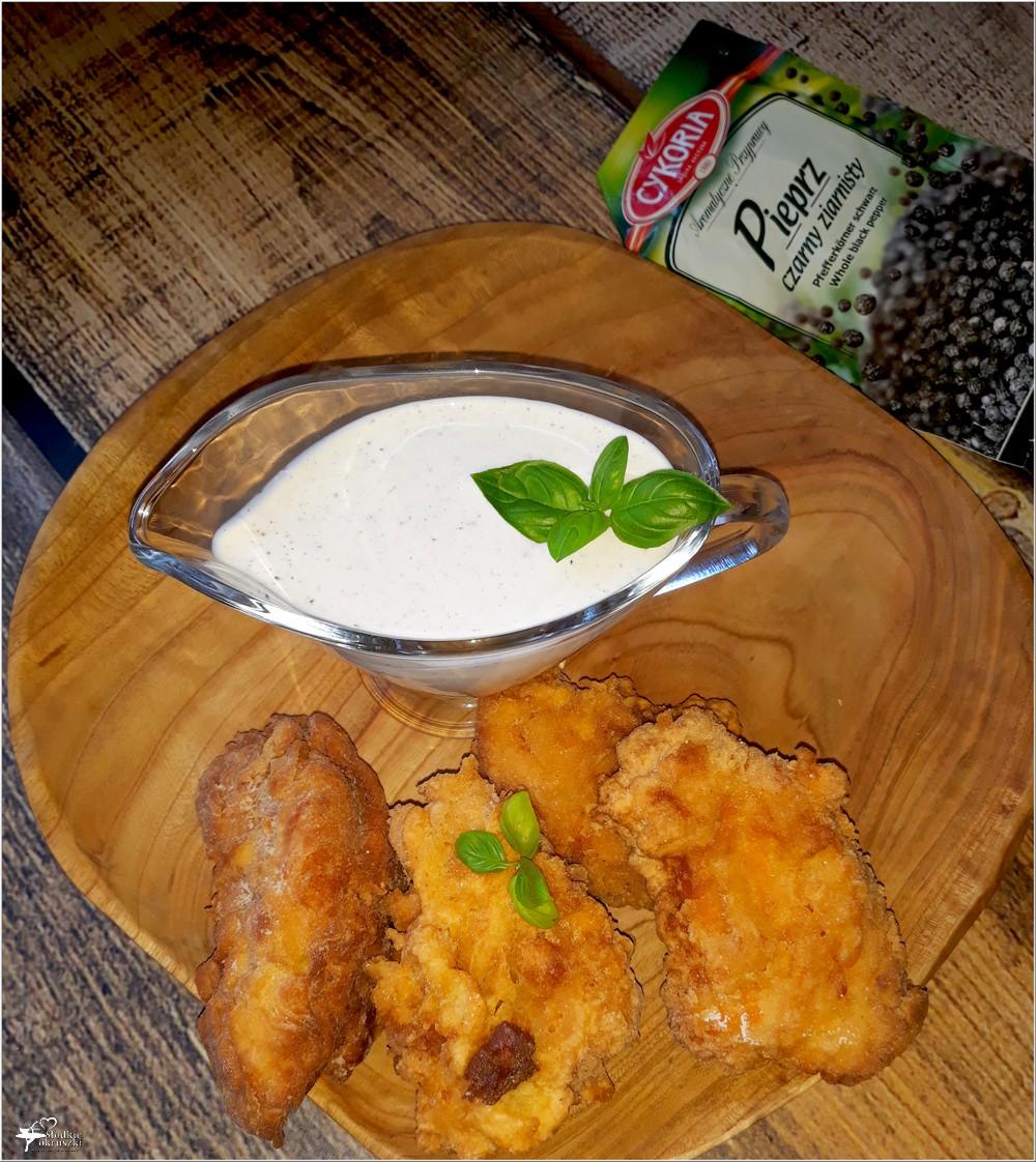 Sos bazyliowo-czosnkowy do chrupiącego kurczaka i dań z grilla (2)