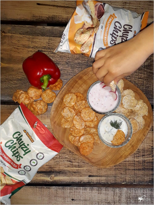 Dwa lekkie dipy i Chyży Chips PanSnack, czyli pomysł na zdrową przekąskę (1)