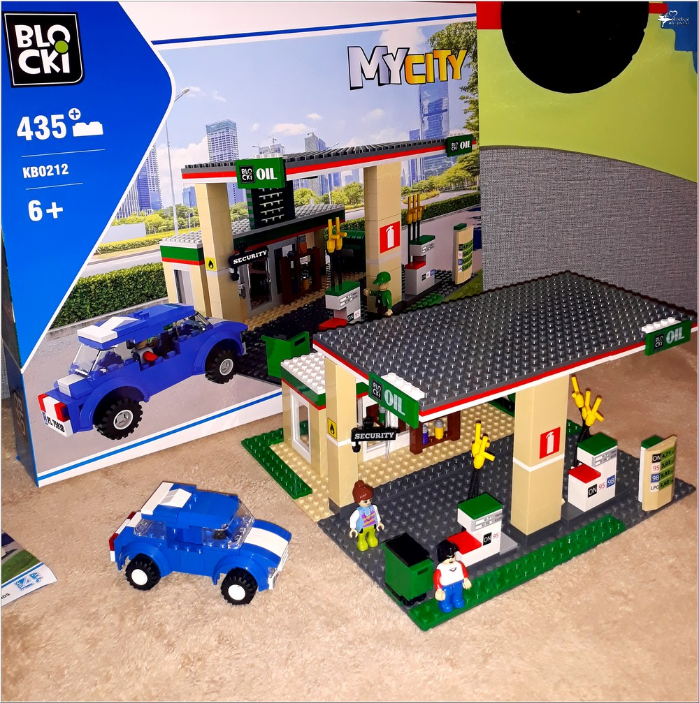 Klocki Blocki MyCity Stacja Paliw (2)