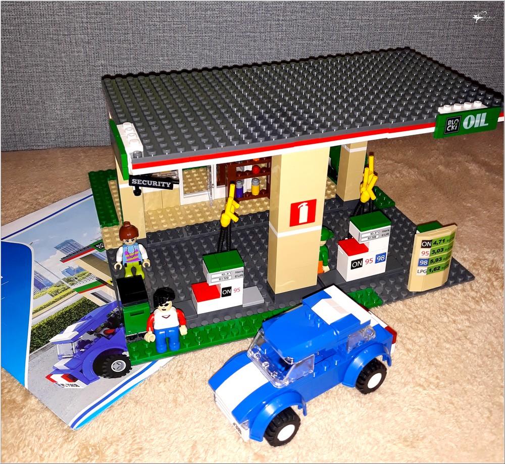 Klocki Blocki MyCity Stacja Paliw (3)