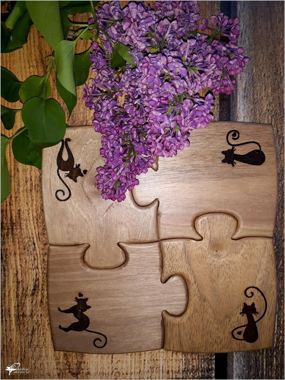 Podkładki PUZZLE od Natura Drewna (1)