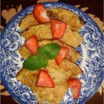 Zdrowy omlet na płatkach żytnich