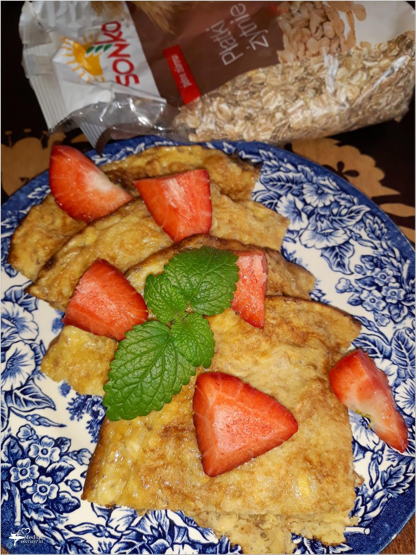 Zdrowy omlet na płatkach żytnich (2)