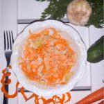 Czosnkowa surówka do mięs oraz o tym jak przygotować warzywne Tagliatelle