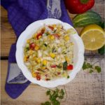 Kolorowa surówka na grilla lub do obiadu (z kapusty pekińskiej)