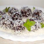 Zdrowe ekspresowe trufle kokosowe