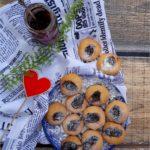 Ciasteczka z konfiturą z czarnej czereśni