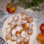 Jabłkowe mini pączki (z cynamonem)