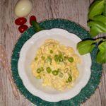 Pasta z serem i pomidorową nutą