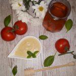 Sos miodowo-czosnkowy (do kurczaka lub sałatek)