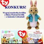 Konkurs! Wygraj maskotkę królika z filmu Piotruś Królik od TYPolska
