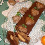 Świąteczna piernikowa krajanka (z masłem orzechowym)
