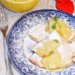 Naleśniki z ananasem i nutą wanilii