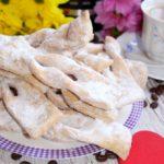 Faworki pieczone – chrust z piekarnika