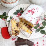Szybkie ciasto z brzoskwiniami i czekoladą (mini ciasto)
