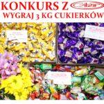 Konkurs z Gibar Wygraj 3 kg cukierków