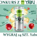 Wygraj 24 szt. Yabu Natural Energy Drink – Yabukowa energia z natury