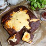 Ciasto Łaciatek czyli piernik z serem