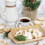 Mocno kruche świąteczne ciasteczka