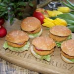 Mini burgery drobiowe