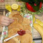 Placuszki bananowe na kefirze