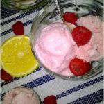 Domowe lody malinowe (bez jajek, bez maszynki)