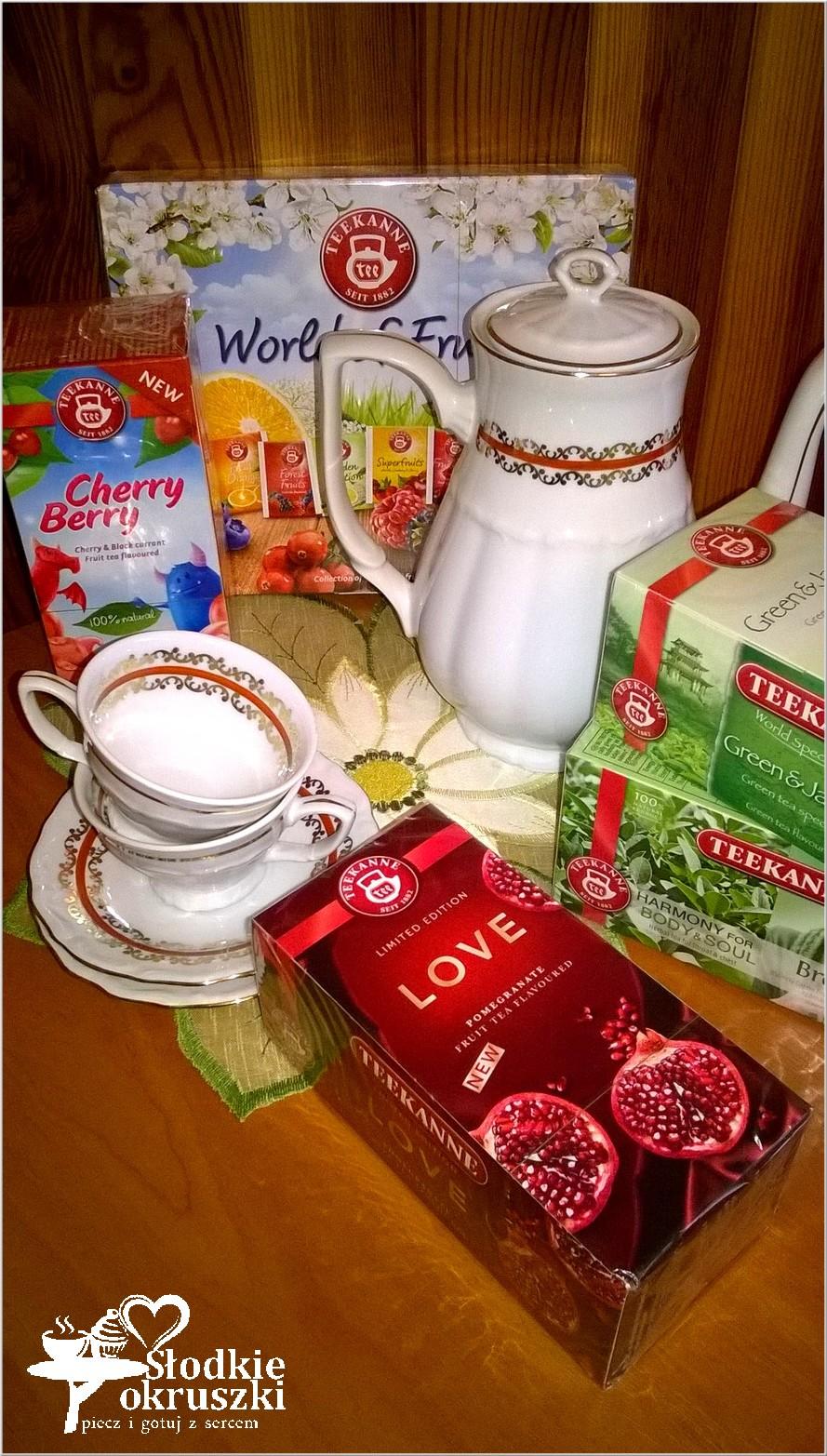 Aromatyczny świat herbat Teekanne