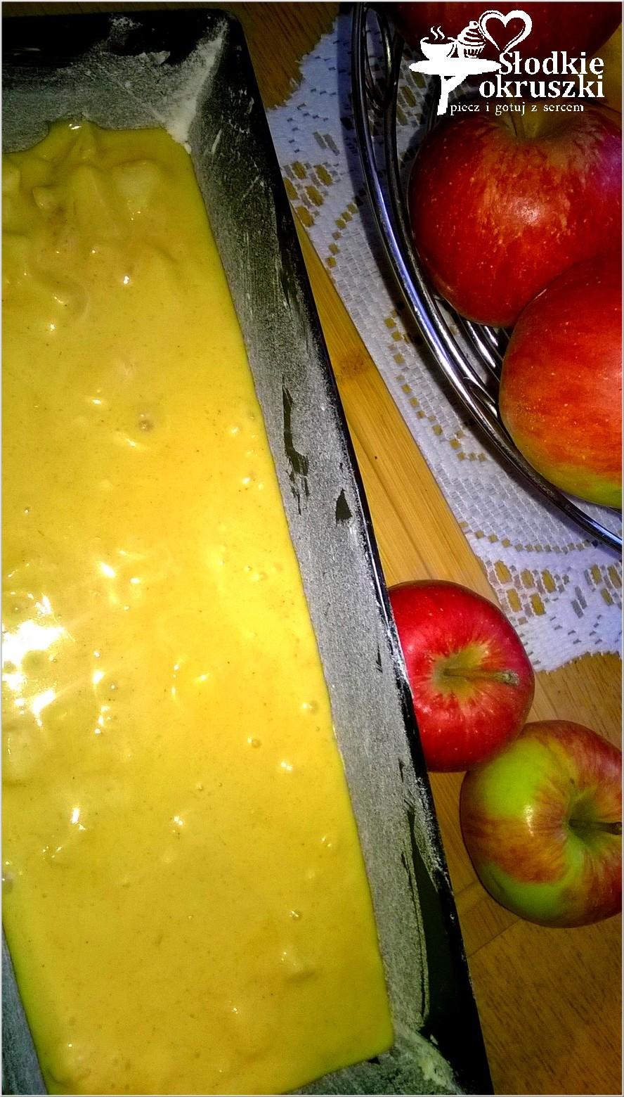 Cynamonowy jabłecznik - przygotowanie
