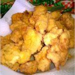 Chrupiące kawałki kurczaka w musztardowo-ziołowej panierce