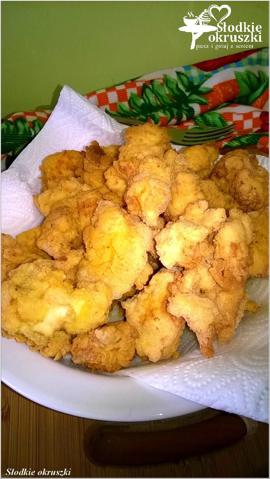 Chrupiące kurczaczki w musztardowo-ziołowej panierce (1)