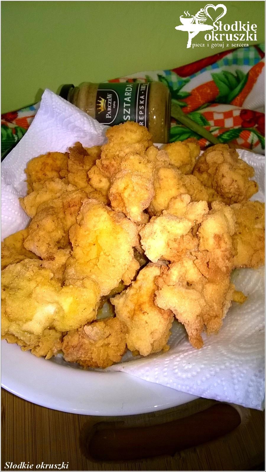 Chrupiące kurczaczki w musztardowo-ziołowej panierce (2)