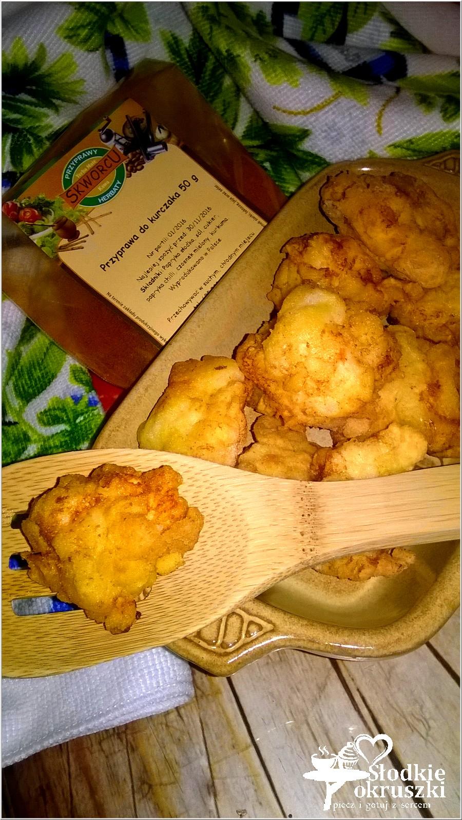 Chrupiące nugettsy na bazie mąki kukurydzianej. (1)