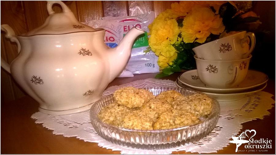 Kokosowe orzeszki. Ciasteczka bez mąki (2)