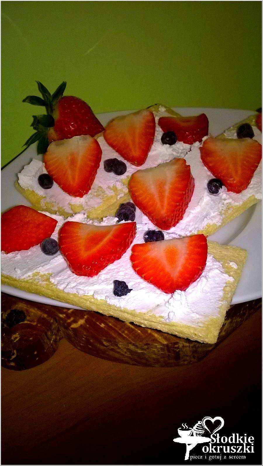 Lekko i zdrowo. Kanapki z owocami. (1)