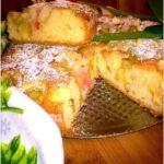 Najlepsze ciasto rabarbarowo-jabłkowe (1)