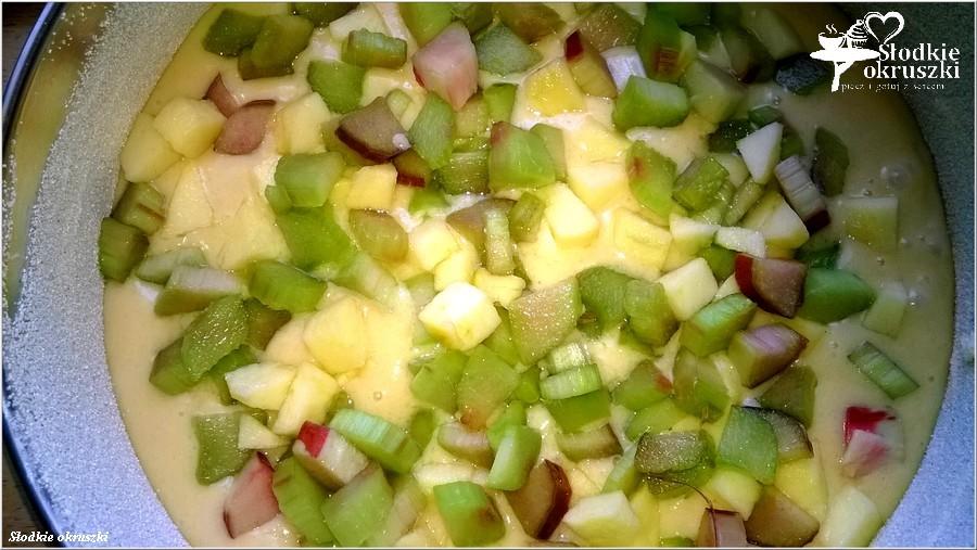 Najlepsze ciasto rabarbarowo-jabłkowe (3)