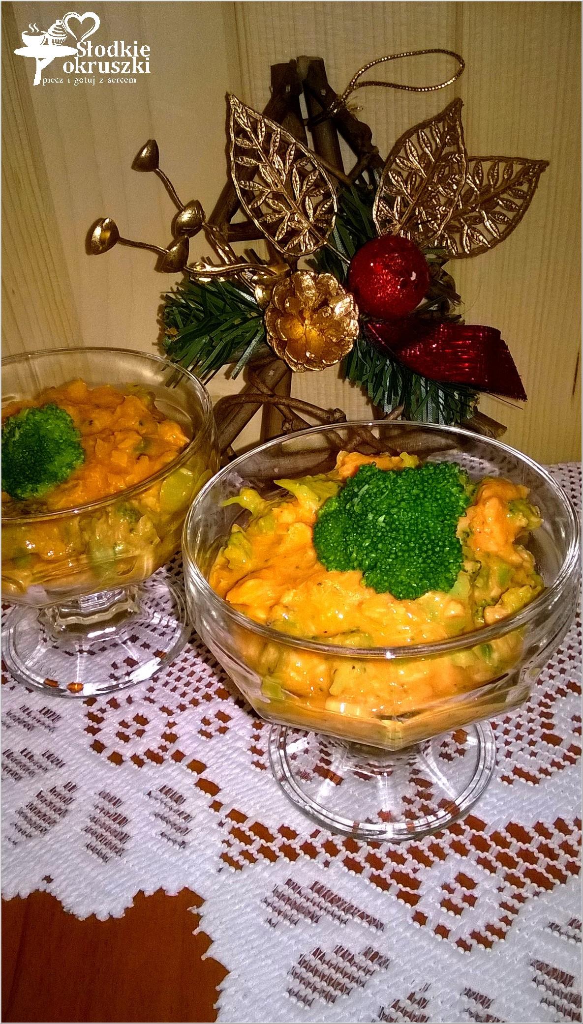 Prosta i zdrowa rybna sałatka z brokułem