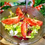 Prosta i zdrowa sałatka wiosenna