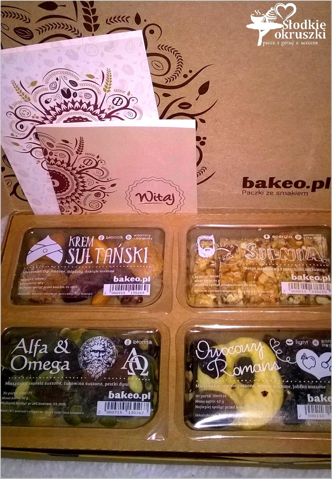 Przekąski pełne smaku i zdrowia - Bakeo 2