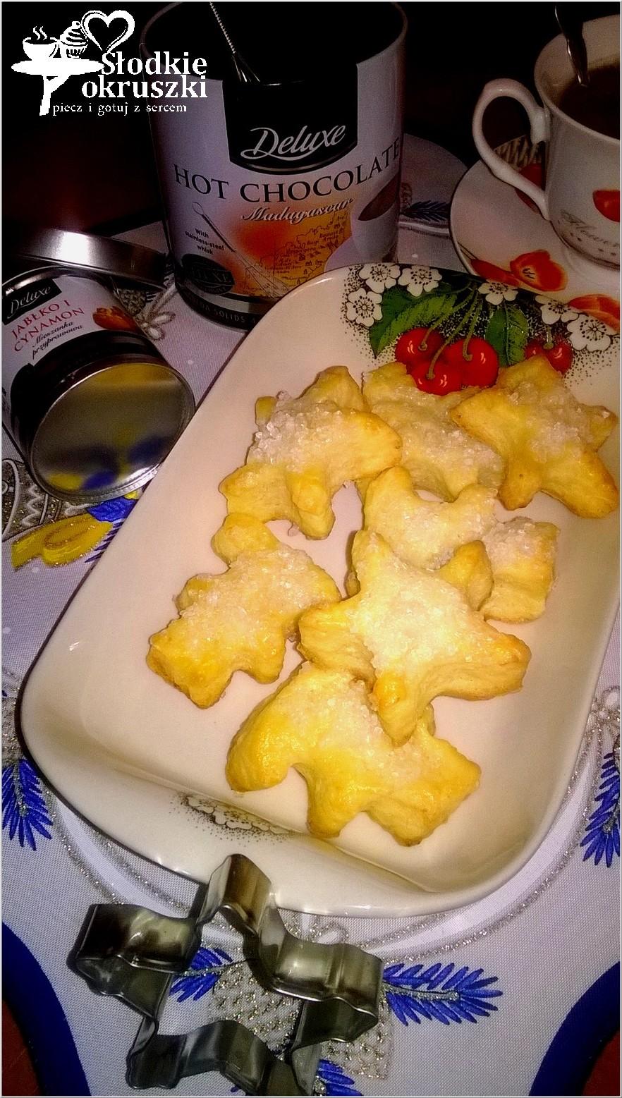 Serowe ciasteczka z cukrem 2